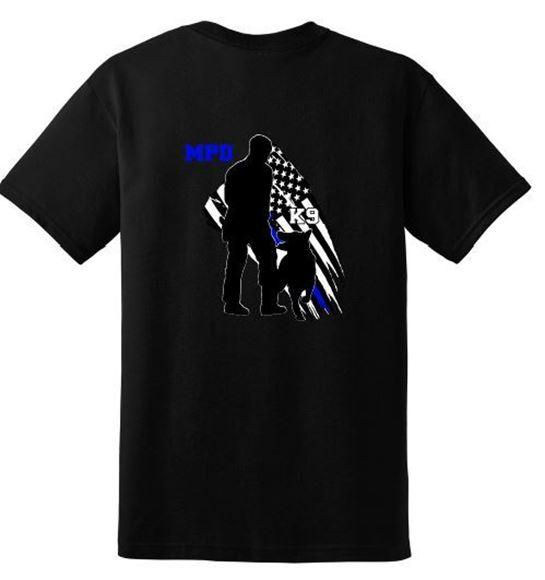 Picture of MPDK9 Short SleeveT-shirt (8000)
