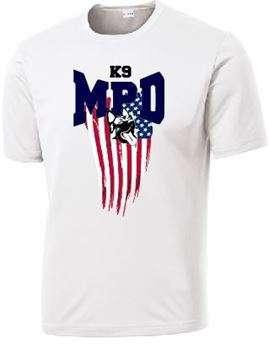 Picture of  MPDk9Flag 2 Performance Shirt (ST350)