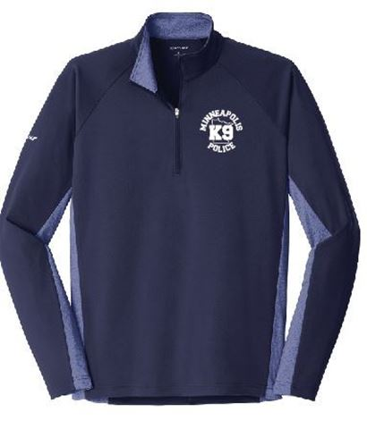 Picture of Sport-Tek® Sport-Wick® Stretch Contrast 1/2-Zip Pullover(ST854)