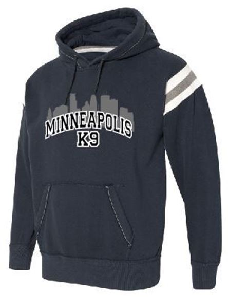 Picture of J. America - Vintage Athletic Hooded Sweatshirt (8847)