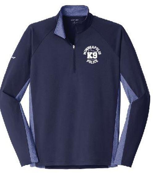 Picture of Sport-Tek® Sport-Wick® Stretch Contrast 1/2-Zip Pullover(ST854)